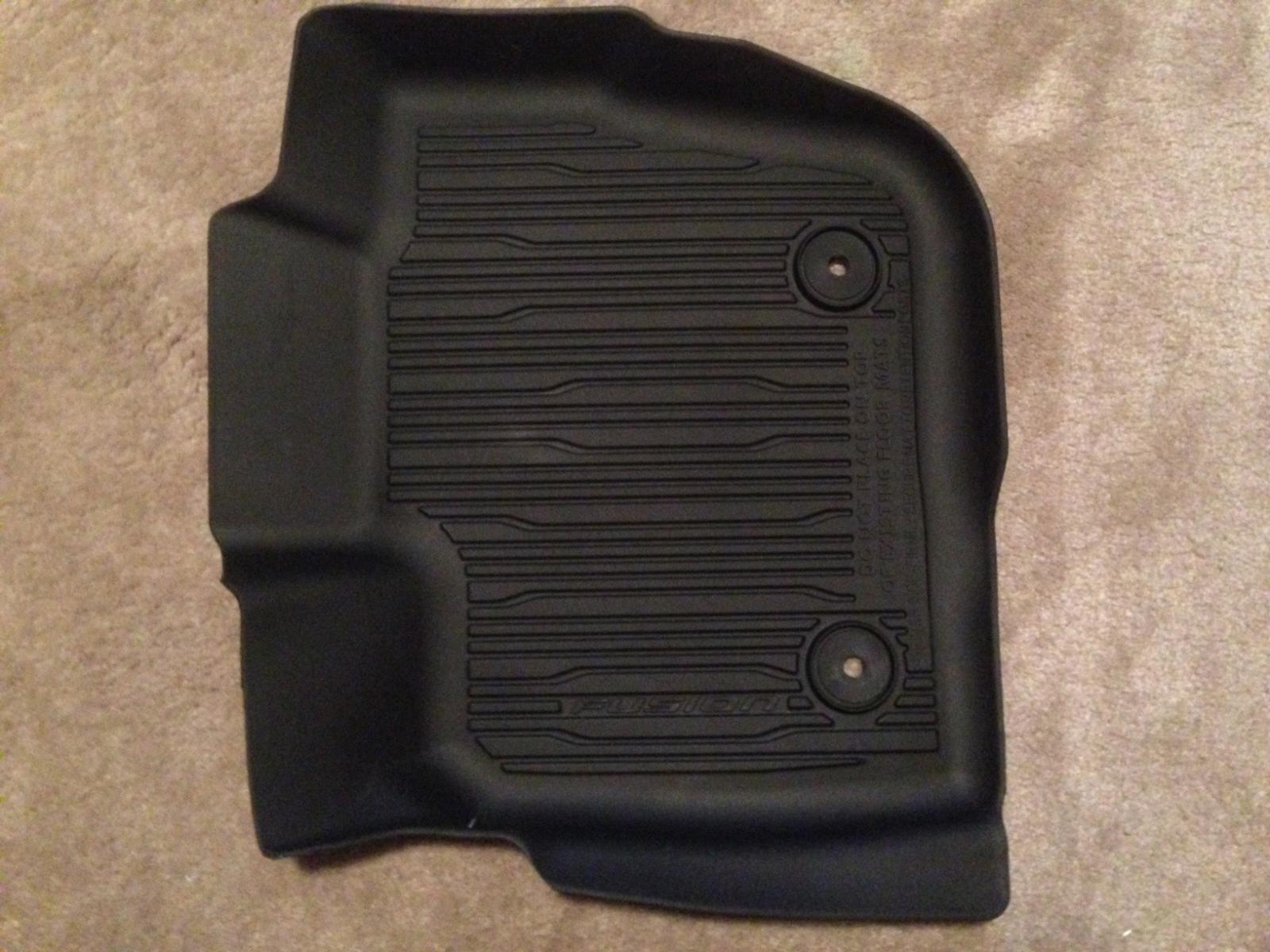 Weathertech mats used -  Click Image For Larger Version Name Img_1640 Jpg Views 173 Size 208 4