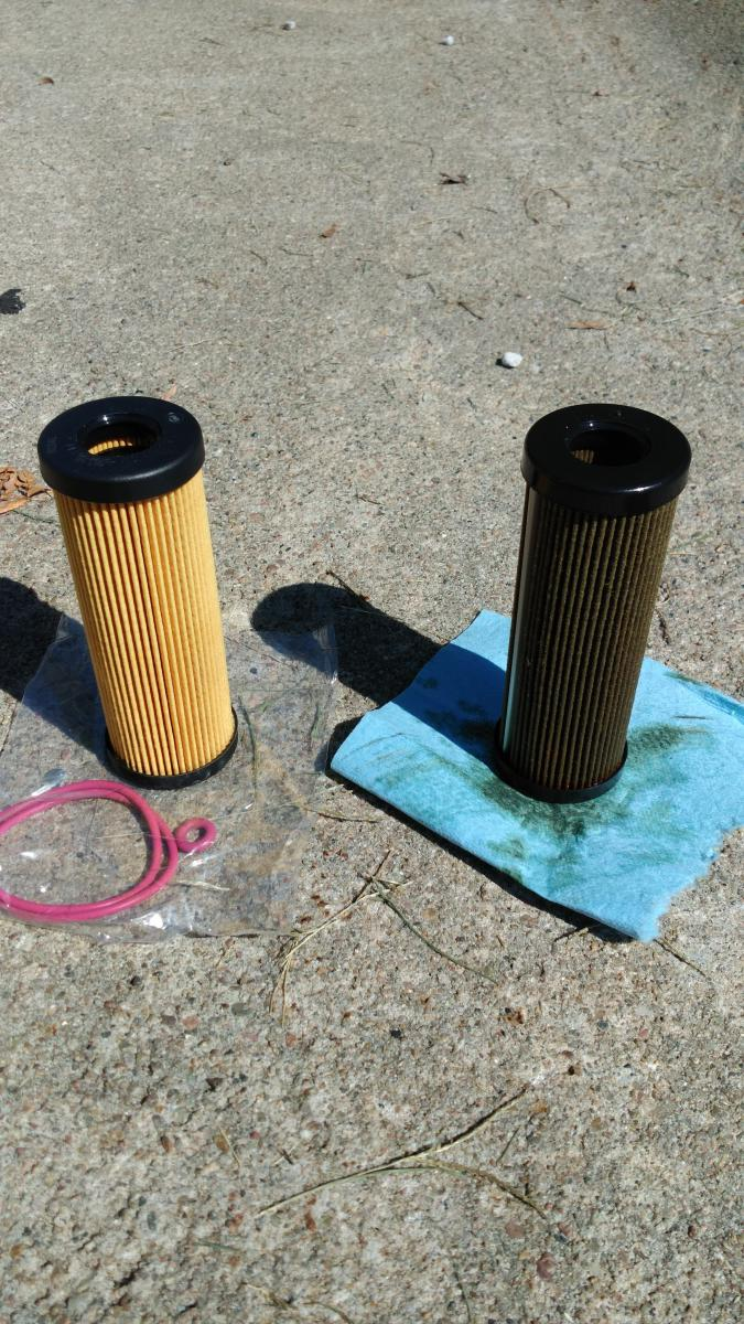 Click Image For Larger Version Name Old Vs New Oil Filter Jpg Views